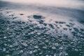 Kamienie i woda przepływ Fotografia Stock