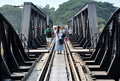 Kanchaburi, Thailand: River Kwai Bridge Stock Photos