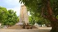 Kanchanaburi, Thailand - WWII Japanese War Memorial Royalty Free Stock Photo