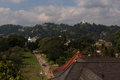 Kandy view the from the top of the temple of the tooth in Royalty Free Stock Image