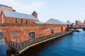 Kanemori Red Brick Warehouse,Hakodate Royalty Free Stock Photo