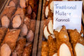 Kannoli a traditional maltese pastry Stock Image