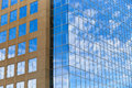 Kansas City Modern Glass Window Office Buildings Royalty Free Stock Photo