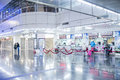Kaohsiung taiwan august high speed rail station platform august in s high speed railway has Royalty Free Stock Image
