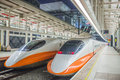 Kaohsiung taiwan august high speed rail station platform august in s high speed railway has Stock Image