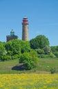 Kap arkona νησί ruegen η θά ασσα της βα τικής γερμανία Στοκ Φωτογραφίες