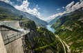 Kaprun dam malta valey and in the mountains austria Stock Photo