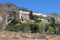 Kapsa monastery at Crete, Greece Stock Image