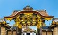 The karamon main gate to Ninomaru Palace at Nijo Castle in Kyoto Royalty Free Stock Photo