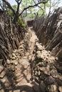 Karat konso traditional ethiopian village ethiopia Royalty Free Stock Image