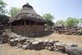 Karat konso traditional ethiopian village ethiopia Stock Image