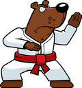Karate Bear Royalty Free Stock Image