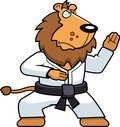 Karate Lion Stock Photo