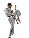 Karate teenagers kid Royalty Free Stock Photo