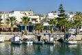 Kardamaina port and quay, Kos island Greece Royalty Free Stock Photo