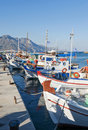 Kardamena Harbor Kos Royalty Free Stock Photo
