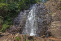 Karera Falls in Burundi Royalty Free Stock Photo