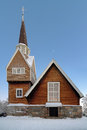 Karesuando Church, Norrbotten County, Sweden Royalty Free Stock Photography