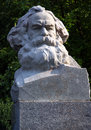 Karl Marx bust stone Royalty Free Stock Photos