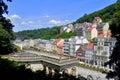 Karlovy Vary city Royalty Free Stock Photo