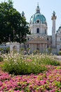 Karlskirche in Vienna Royalty Free Stock Photos