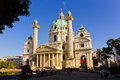 The Karlskirche - Vienna Austria Stock Images
