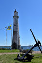 Karlskrona Lighthouse Royalty Free Stock Photo