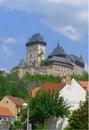 Karlstejn castle, Czech Republic Stock Photo