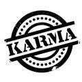 Karma rubber stamp
