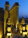 Karnak at night Royalty Free Stock Photo