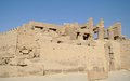 Karnak temple complex in luxor Stock Image