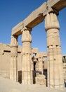 Karnak temple complex in luxor Stock Photo