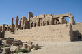 Karnak temple complex in luxor Royalty Free Stock Photography