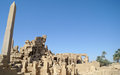 Karnak temple complex in luxor Royalty Free Stock Photo