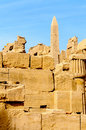 Karnak temple in Luxor, Egypt. Stock Photography