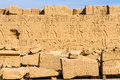 Karnak temple in Luxor, Egypt. Stock Image