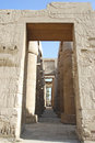 Karnak temple in luxor egypt Stock Photography
