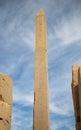 Karnak temple Obelisk Royalty Free Stock Photo