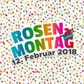 Karneval - Rosenmontag 2018 Mi...