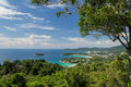 Karon view point phuket thailand sunny day at Royalty Free Stock Photo