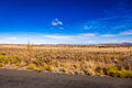 The Karoo veld Royalty Free Stock Photo
