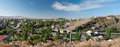 Kars turkey a panorama of the city of Royalty Free Stock Photos