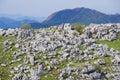 Karst topography (Shikoku Karst) Royalty Free Stock Photo