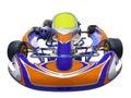 karting racing car Royalty Free Stock Photo