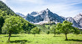 Karwendel mountains summer austria Stock Photos