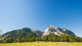 Karwendel mountains in summer austria Stock Photos