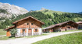 Karwendel old farmhouse at the mountain austria Royalty Free Stock Photography