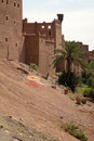Kasbah in ouarzazate Royalty Free Stock Images