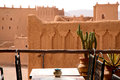 Kasbah in ouarzazate old fort the Royalty Free Stock Images