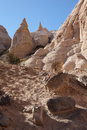 Kasha katuwe tent rocks slot canyon trail in national monument Royalty Free Stock Image